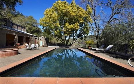 39 piscine liner noir 39 in architecture design et d coration - Liner noir pour piscine ...