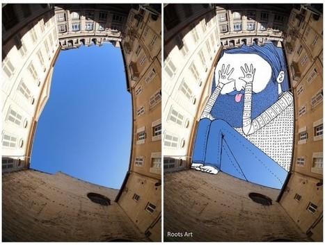 Sky Art by Thomas Lamadieu - OZONWeb by OZON Magazine   Art, graphic design, video production, animation and illustration   Scoop.it