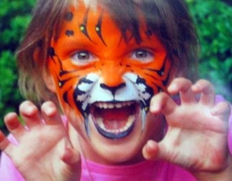 Déguisement et maquillage de chat, tigre pour les filles et garçons | Fêter Carnaval, jeux, déguisements,.. | Scoop.it