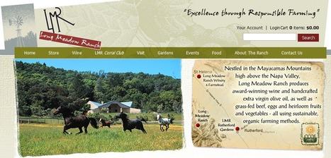 Long Meadow Ranch | NAPA traveling | Scoop.it
