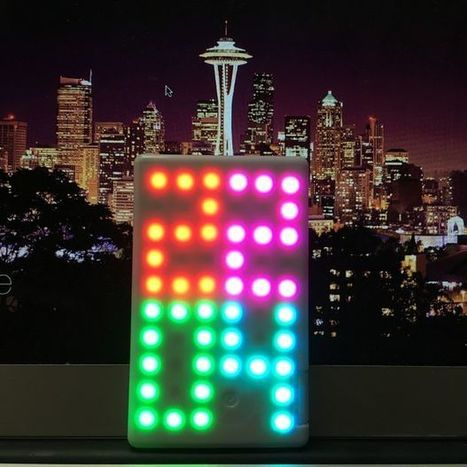 IoT LED Matrix | Open Source Hardware News | Scoop.it