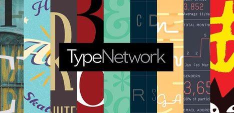 TypeNetwork, le nouveau paradis des typos | Info-doc, formation, TIC, social media | Scoop.it
