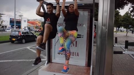 (Street Marketing) Reebok transforme des abribus en équipements sportifs | A.S.2.0 - 12 | Scoop.it