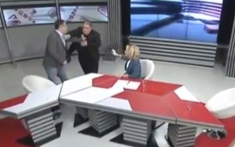 Georgian MPs get into fist fight on live television | Quite Interesting News | Scoop.it