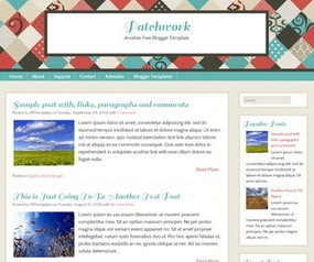 Patchwork Blogger Template | Blogger themes | Scoop.it