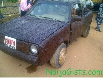 Car Made Out Of Bamboo Spotted In Ibadan Oyo State Nigeria ... | Lewis Bamboo | Scoop.it