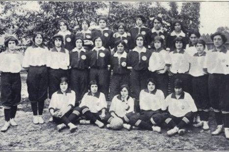 100 años del primer partido de fútbol femenino - Mundo Deportivo | Futbol | Scoop.it