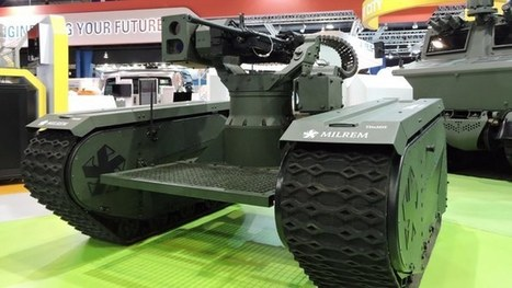 Milrem combat robot brings modular versatility to the battlefield | Robots and Robotics | Scoop.it