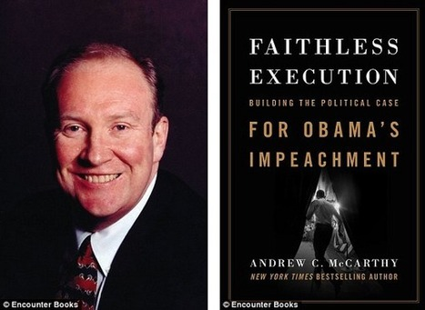 """Faithless Execution: Building the Political Case for Obama's Impeachment"" by Andrew C. McCarthy « The Hugh Hewitt Show 