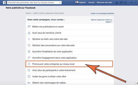 "Vente Et Marketing Digital: Facebook Lance les ""Annonces Locales"" pour les TPE et PME en France ! 