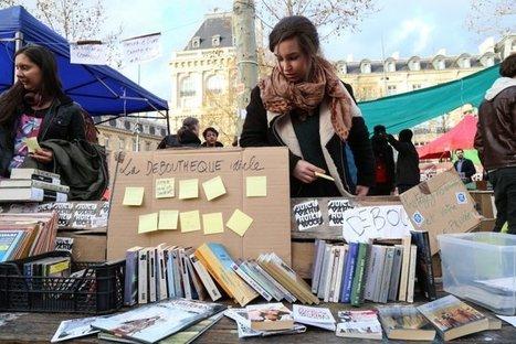 Cantine, infirmerie, bibliothèque… Nuit debout partage les communs   Innovation sociale   Scoop.it