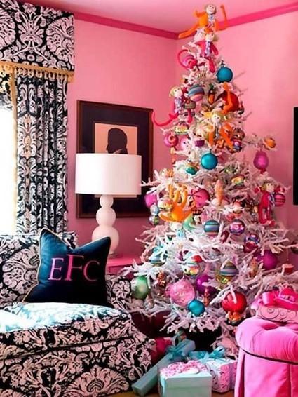 40 ideas para tener el árbol de navidad mas original | Deco! | Scoop.it
