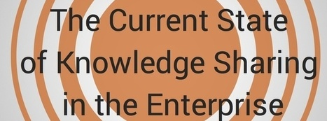Free report: the status of corporate knowledge sharing | Curation in Higher Education | Scoop.it