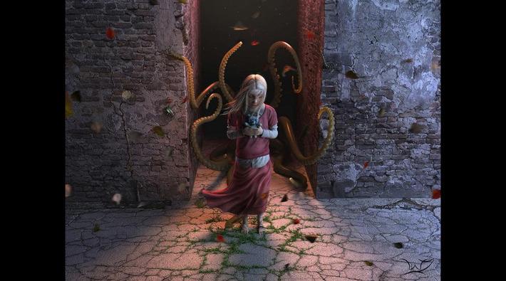 Fantasy Art: Fear - 3D, Concept art, Fantasy, Illustrations | Machinimania | Scoop.it