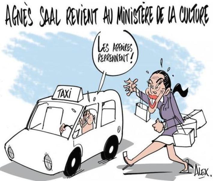 Agnès Saal revient au ministère de la culture | Baie d'humour | Scoop.it