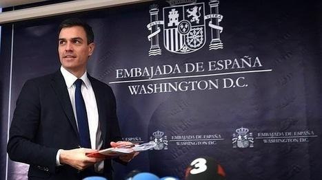 Pedro Sánchez se equivoca de campus en Washington y el rector que le esperaba le deja un tuit | Pensamientos Alternados | Scoop.it