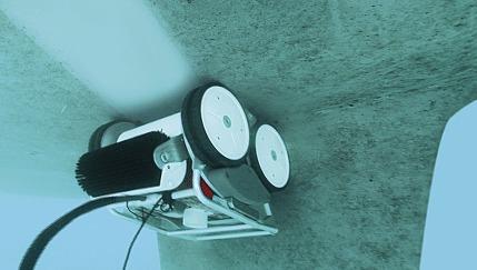 Le robot Hulltimo destiné à l'entretien des coques de bateaux | iRobolution | Scoop.it