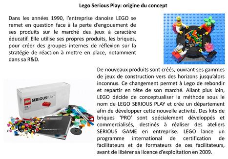 Origine de Lego Serious Play   Lego Serious Play   Scoop.it