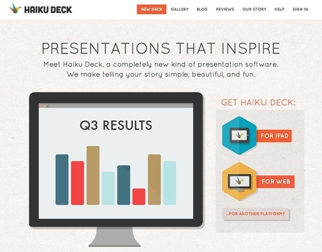 Make your presentations pop with Haiku Deck | Employment Campaigns | Scoop.it