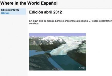 Diviértete jugando con Google Earth y Where in the World, ya en español   actualidadGoogle   Recursos Educativos para ESO, Geografía e Historia   Scoop.it