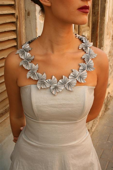 Put It on Paper – Hila Rawet Karni Jewelry — I Design Distribution Blog   Right Angle Weave Beading   Scoop.it