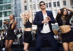 Robin Thicke files lawsuit to defend 'Blurred Lines' from claims of copying Marvin Gaye, George Clinton | Kill The Record Industry | Scoop.it
