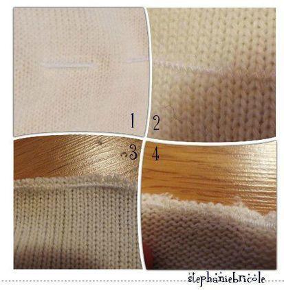 Découper un pull sans l'effilocher | astuce | Blog de Petit Citron | Couture facile | Scoop.it