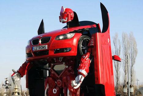 Letrons, une BMW qui peut se transformer en robot   Electronique   Scoop.it