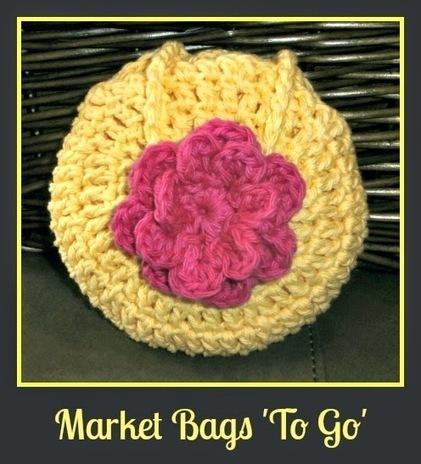 Tracy's Crochet Bliss: Market Bags 'To Go' | CrochetHappy | Scoop.it