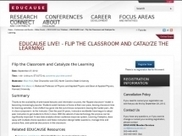 Flip the Classroom and Catalyze the Learning | EDUCAUSE.edu | Teaching & learning in the creative industries | Scoop.it