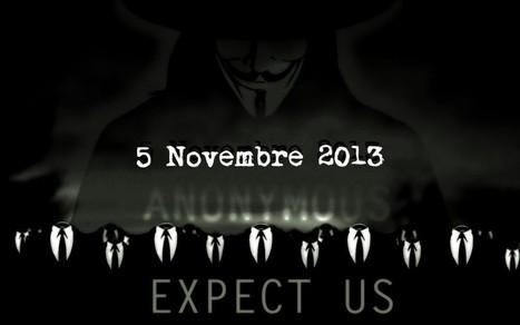 Anonymous veut faire du 5 novembre une journée mondiale de désobéissance civile - CitizenPost | L'Agonie du Système | Scoop.it