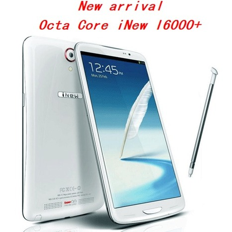 iNew I6000+ MTK6592 Octa Core 1.7GHz 2GB 16GB 6.5 Inch 5MP+13.0MP - AsiaPads.com | ASIAPADS.COM - Tablet PC - Android TV - Electronics from China | Scoop.it