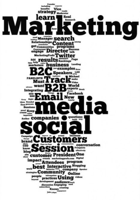 Oubliez les médias sociaux, pensez Digital Marketing | Internet is not only about rainbows and unicorns | Scoop.it