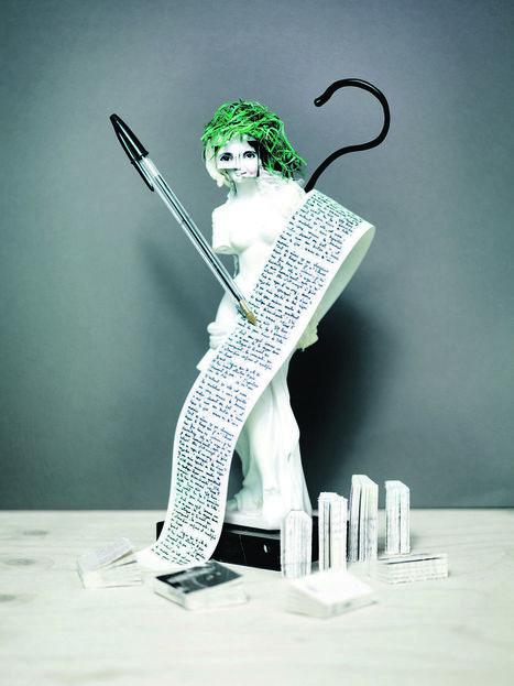 Portrait-robot del'écrivain français | Edition en ligne & Diffusion | Scoop.it