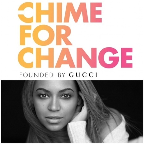 Gucci's Chime For Change Campaign Funds 260 Charitable Projects - Fashion Times | Fashion Business Finance | Scoop.it