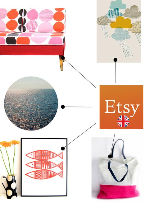 Happy Interior Blog: 5 Happy Inspirations: Etsy UK Picks   la Mode i love it   Scoop.it