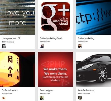 The Best Google+ Communities | Social Media Useful Info | Scoop.it