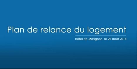 Plan de relance pour le logement du 29 août 2014 | immobilier, assurance, crédit | Scoop.it