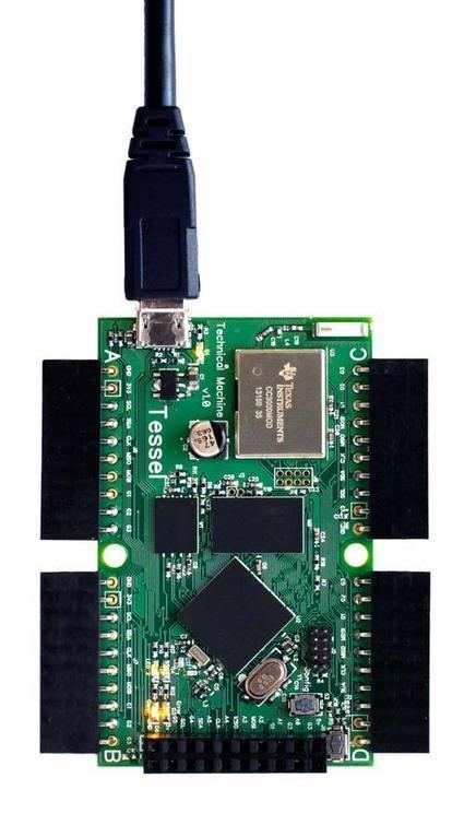 TESSEL - Technical Machine - microcontroller that runs JavaScript