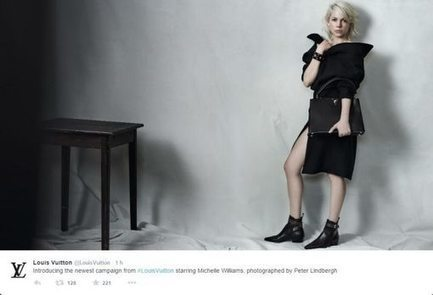 Michelle Williams repart en campagne pour Louis Vuitton   Beauté et mode   Scoop.it