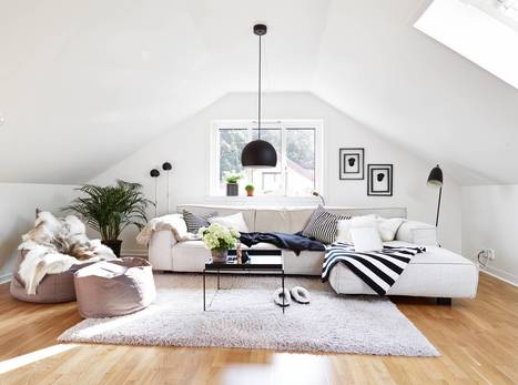 25 Gorgeous Attic Room Designs | Adorable Home - Inspirational Home Design and Decorating Ideas | Scoop.it