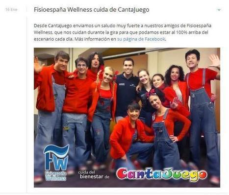 Fisioespaña Wellness y Cantajuego | Salud y ejercicio | Scoop.it