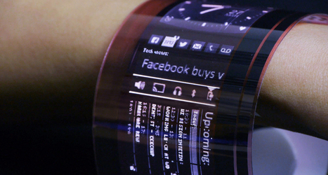 Digital displays get flexible | Student Science | Technics | Scoop.it