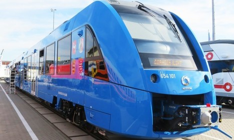 World's First Zero-Emissions Train Unveiled in Germany   Global railway news   Scoop.it
