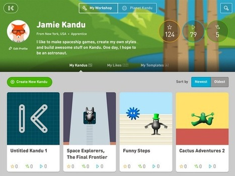 Kandu Teaches Kids How To Make iPad Apps, No Coding Required - TechCrunch | Children's Games | Scoop.it