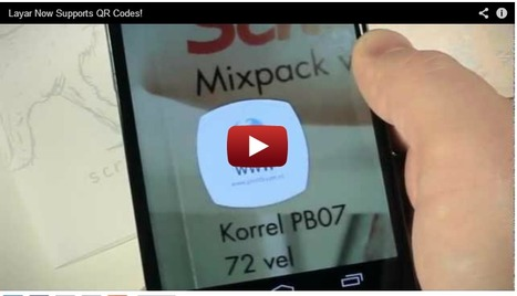 Layar une códigos QR con Realidad Aumentada | MobiLib | Scoop.it
