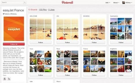 Pinterest : EasyJet France tire déjà parti du réseau social   Toulouse networks   Scoop.it