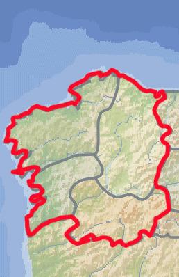 Localización Geográfica de Galicia | Ciencias Sociales de Carlota | Scoop.it