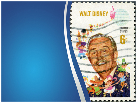 Walt Disney PowerPoint Template (PPT Slide) - Templates Vision | PPT Templates | Scoop.it