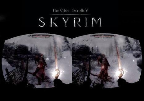 Oculus Rift Virtual Reality Headset Running Skyrim (video) - Geeky gadgets | Immersive Virtual Reality | Scoop.it